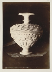 Depar Gangro, Hyderabad District, Sindh. Earthenware goblet excavated at